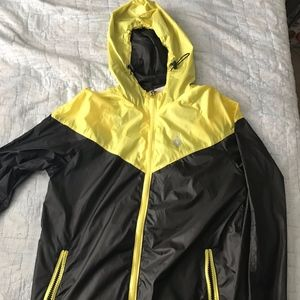 Other - Yellow and Black Rain Jacket